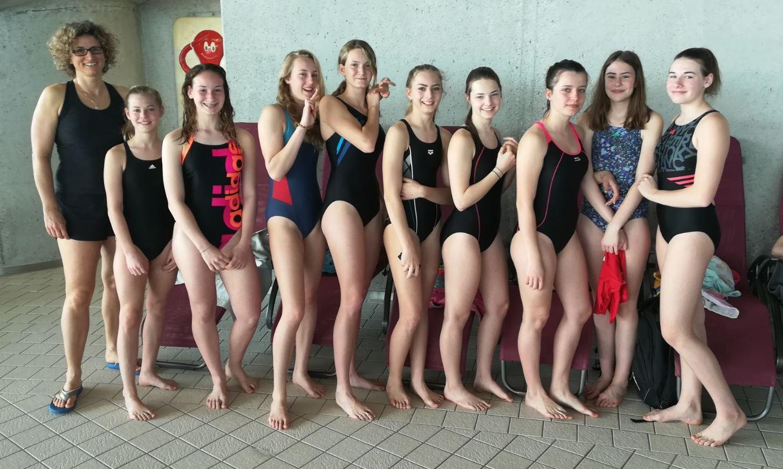 Schwimmen: 3x Zweiter, 1x Dritter (+Video) – Sport-MS WN